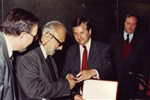 Honorary degree to Abdus Salam from University of Tucuman, Argentina, 1991