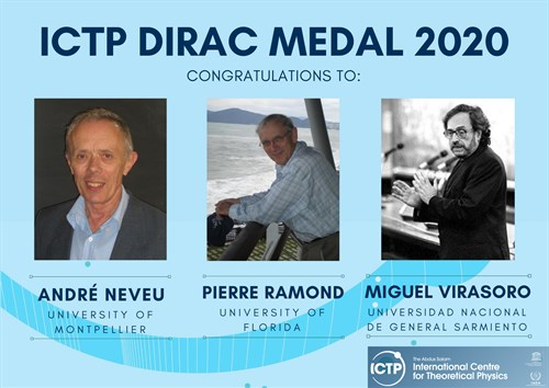 2020 Dirac Medal Winners Announced