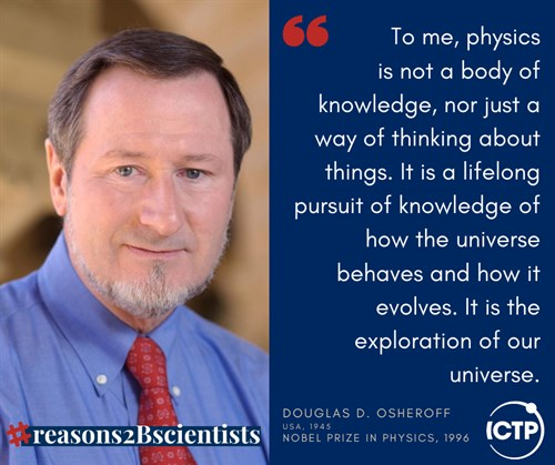 One Hundred Reasons to Be a Scientist